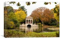 Birkenhead Park Boathouse , Canvas Print
