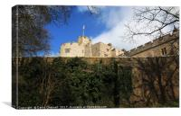 Chirk Castle , Canvas Print