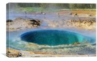 Glass Dome Geyser , Canvas Print