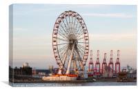 New Brighton Giant Wheel , Canvas Print