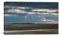 Hilbre Island Spotlight , Canvas Print