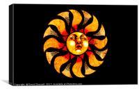 Solar Wind, Canvas Print