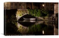 Bruges Canals, Canvas Print