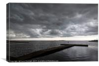 Wirral Storm, Canvas Print