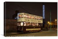 Birkenhead Corporation Tramways , Canvas Print
