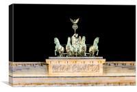 Brandenburg Gate  , Canvas Print