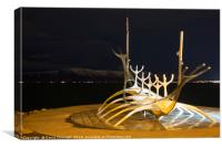The Sun Voyager, Canvas Print