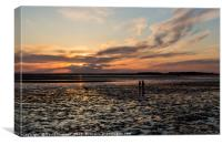 West Kirby Sunset Dreams  , Canvas Print