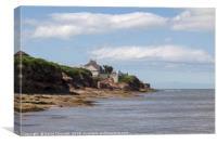 Hilbre Island  , Canvas Print
