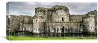 Beaumaris Castle, North Wales, Canvas Print
