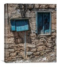 Old Cypriot Building, Canvas Print