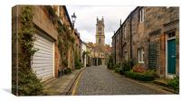 Circus Lane, Edinburgh, Canvas Print