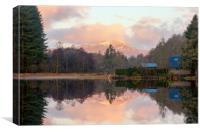 Ben Lomond Reflections, Canvas Print