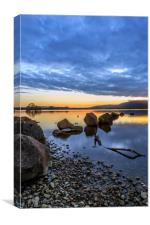 Milarrochy Rocks, Loch Lomond, Canvas Print