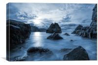 Pettico Wick Bay, St Abbs Head, Canvas Print