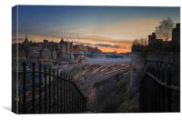 The Waverley at sunset, Canvas Print