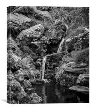 The grotto, Canvas Print