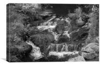 Tumbling Water, Canvas Print