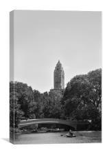 The spire, Canvas Print