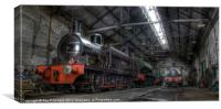 Tanfield Trains, Canvas Print