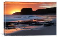 Sunrise, Canvas Print