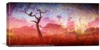 Textured Tree, Canvas Print