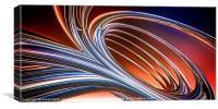 Chrome Tubes, Canvas Print