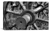 Wagon Wheels, Canvas Print