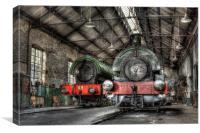 Steam Trains, Canvas Print