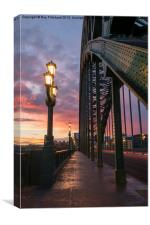 Tyne Bridge Sunrise, Canvas Print