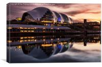 The Sage in Gateshead, Canvas Print
