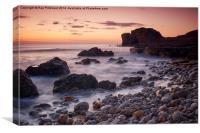 Target Rock Sunrise, Canvas Print