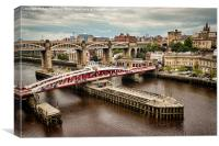 View Of Newcastle, Canvas Print
