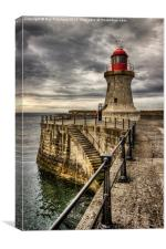 South Shields Lighthouse, Canvas Print