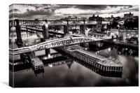 Newcastle Upon Tyne, Canvas Print