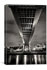 Under The Tyne Bridge, Canvas Print