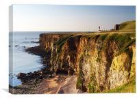 Marsden Cliffs, Canvas Print