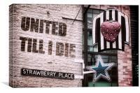 United Till I Die, Canvas Print