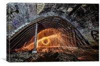 Sparks Underground, Canvas Print