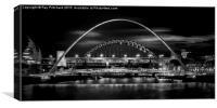 Tyne Bridges, Canvas Print
