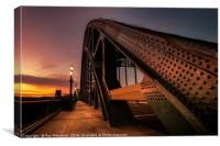 Sunrise on the Tyne Bridge, Canvas Print