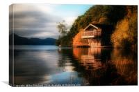 Old Boathouse , Canvas Print