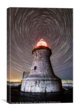 South Shields Lighthouse , Canvas Print