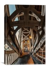 High Level Bridge , Canvas Print