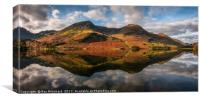 Buttermere Reflected, Canvas Print