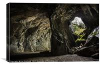 Cathedral Cavern , Canvas Print