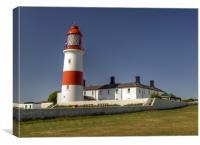 Souter Lighthouse, Canvas Print
