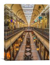 Adelaide Victorian Arcade, Canvas Print