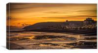Eastbourne After Sunset, Canvas Print