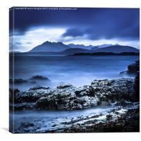 The Black Cuillin, Isle of Skye, Canvas Print